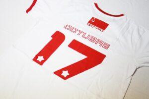 Camiseta cccp blanca y roja la lokomotora tienda online - Habitacion roja y blanca ...