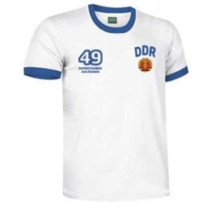 camiseta ddr rda blanca