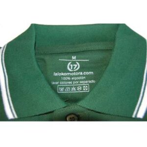 polo 17 verde etiqueta