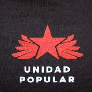 camiseta unidad popular estrella roja