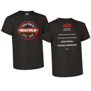 camiseta unidad popular