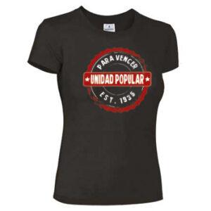 camiseta unidad popular feminista
