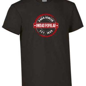 Camisetas Unidad Popular