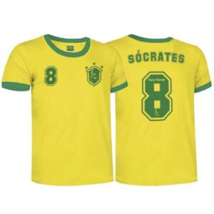 camiseta socrates brasil
