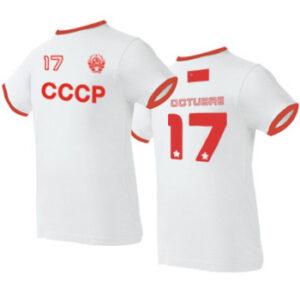 camiseta cccp blanca