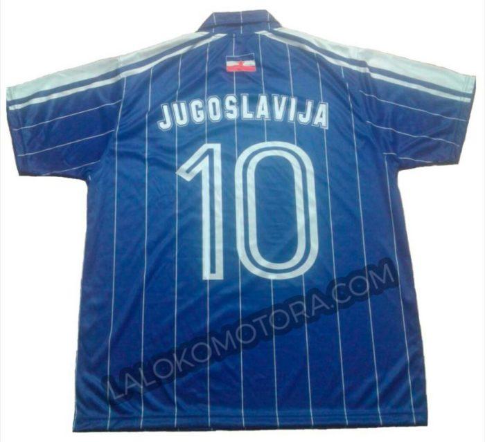 camiseta jugoslavija