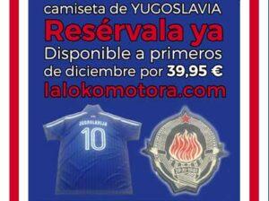 camiseta yugoslavia banner pequeño