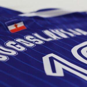 camiseta yugoslavia jugoslavija
