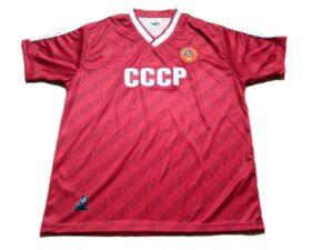 camiseta cccp roja