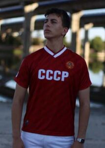 camiseta cccp roja 1