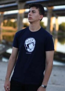 camiseta gagarin