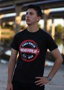 camiseta unidad popular laloko