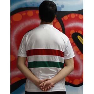 camiseta de hungria trasera