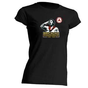 camiseta brigadas internacionales entallada
