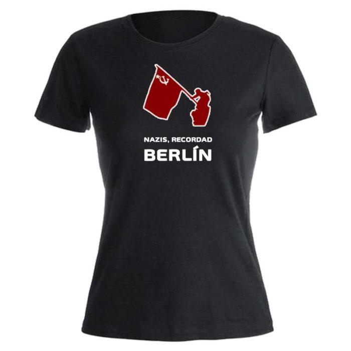 camiseta nazis recordad berlin entallada
