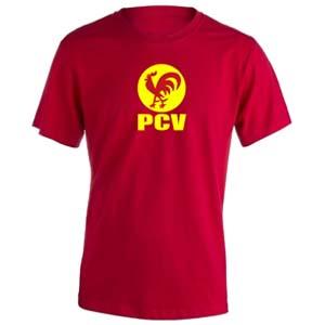camiseta pcv