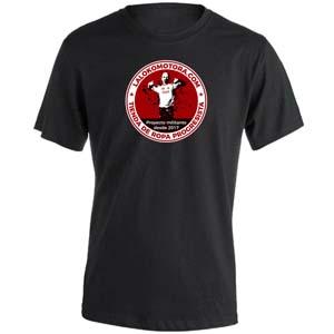 camiseta la lokomotora