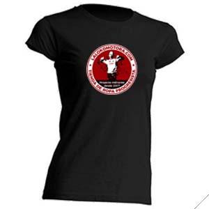 camiseta la lokomotora entallada