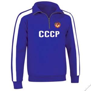 sudadera cccp 70 azul