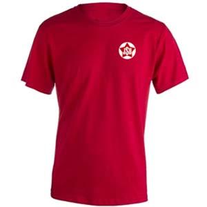 camiseta jsu roja