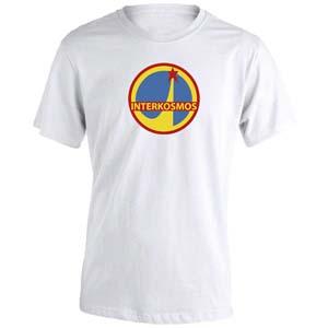 camiseta interkosmos blanca