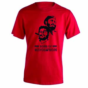 camiseta sons of revolution roja
