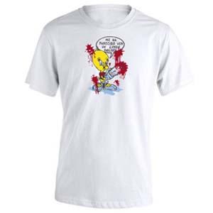 camiseta piolin blanca