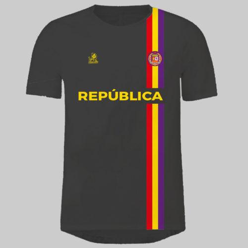 camiseta seleccion republicana negra amarilla