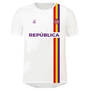 camiseta republicana blanca lalokomotora