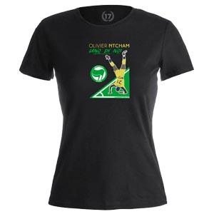 camiseta olivier ntcham mujer