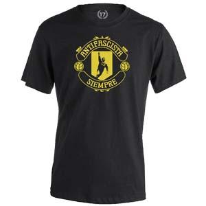 camiseta cantona escudo