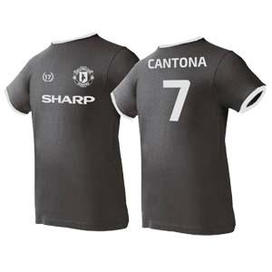 camiseta cantona negra alogdon