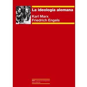 libro la ideologia alemana