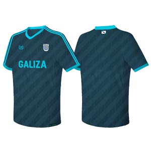 camiseta galiza oscura