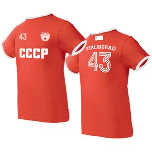 camiseta stalingrado roja
