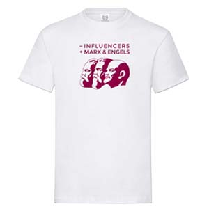 camiseta influencers blanca